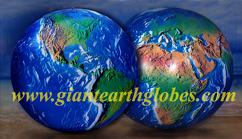 6 ft inflatable earth balloon ball