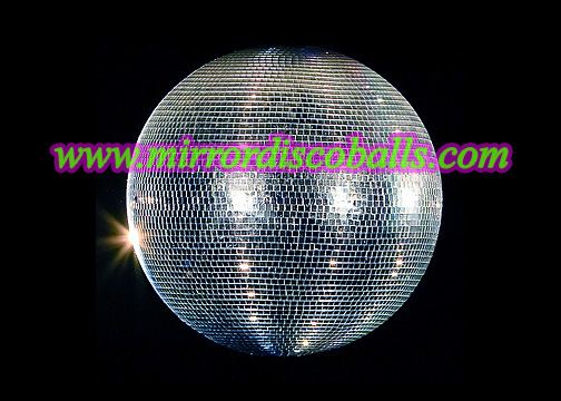 Giant Mirror Disco Balls Up To 72 Inches
