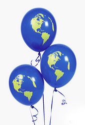 earth balloons 11 inch