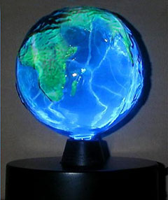 Earth Blue Planet Lamp