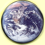 earth button 2 inch