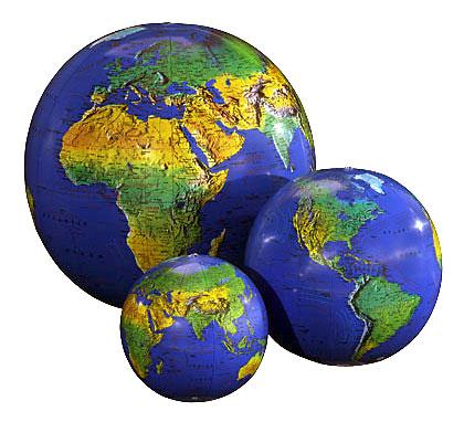 Gigantic Inflatable Planet Earth Globe Balloon ~ Giant ...