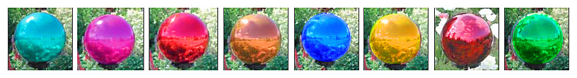 gazing ball colors