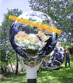 7ft giant earth globe balloon