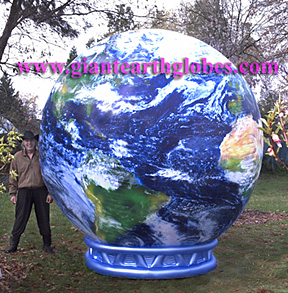 Earth Balloon Pedestal