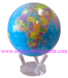 movaglobe map world solar spinning