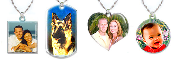 Emamal Photo Pendants