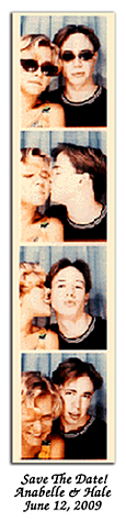 photo booth magnet