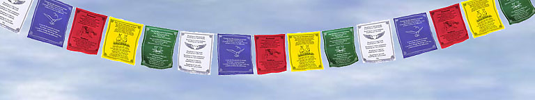 univeral prayer flags