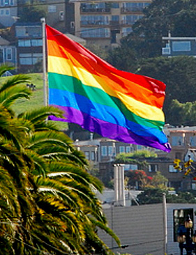Giant Rainbow Flag Nylon 4x6 ft - 5x8 ft