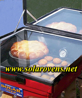 New Tulsi Solar Oven Electric Hybrid