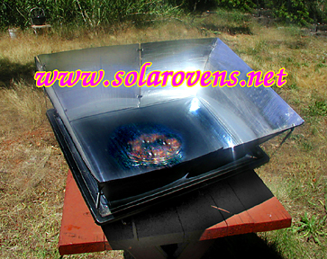Sport Solar Oven with Reflectors