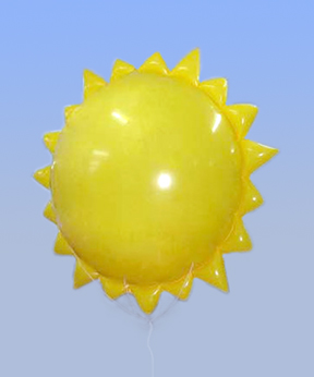 sun balloon solar energy